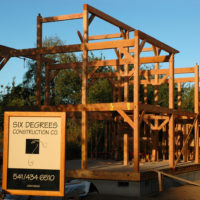Timber Frame Residence Project #1