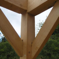 Timber Frame Residence Project #2