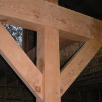 Timber Frame Residence Project #6