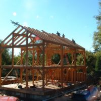 Timber Frame Residence Project #7